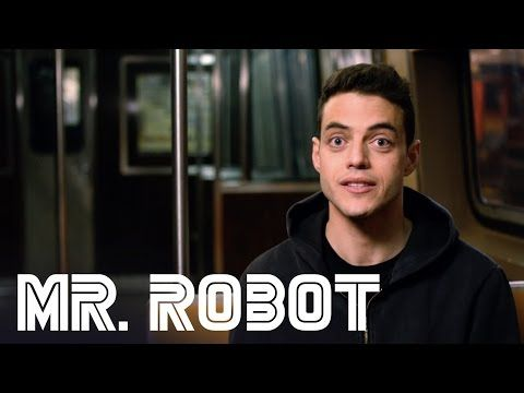 Mr Robot Rami Malek Behind The Scenes Interview Mr Robot Rami Malek Mr