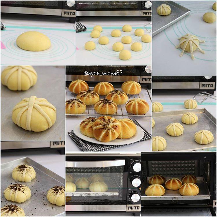 Spider Web Bread Dipanggang Dengan Oven Mito Dari Mitoelectronic Id Cantik Banget Hasilnya Ya Mak Cuzz Resepnya Yah Resep Dasar Roti Food Fruit Breakfast