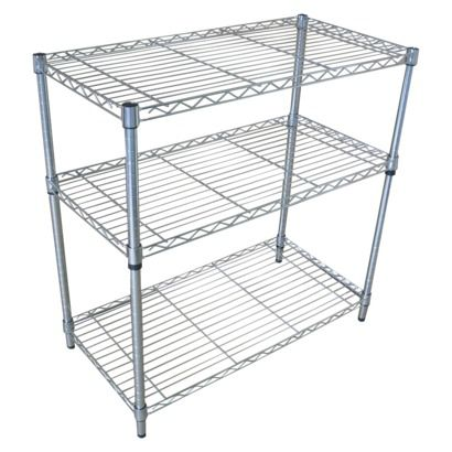 Room Essentials™ 3Tier Chrome Wire Shelving Wire