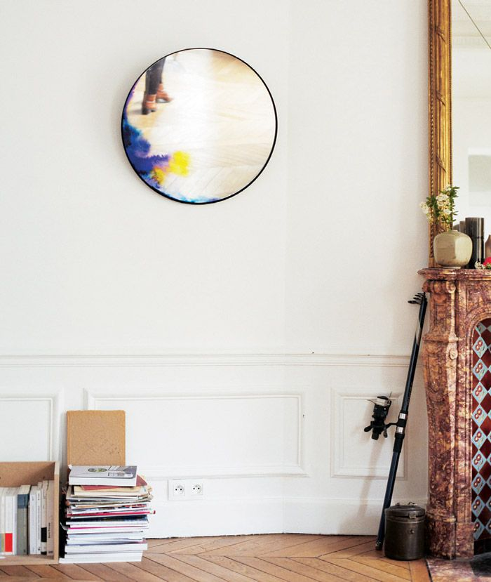 The Design Pilgrim Lust List  2.'Francis' mirror by French designer Constance Guisset