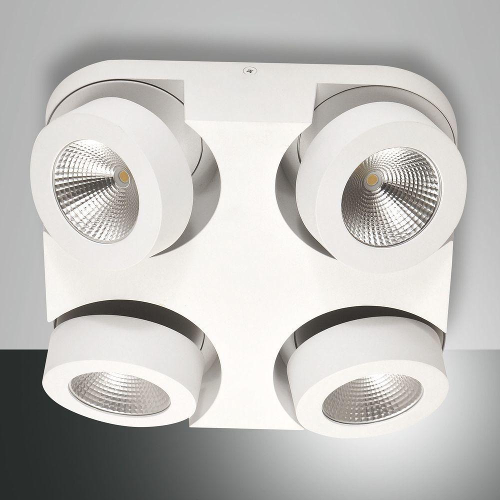 Led Deckenleuchte Hella In Weiss 4x450 Lm Mit Bildern Led Deckenleuchte Led Deckenlampen Led