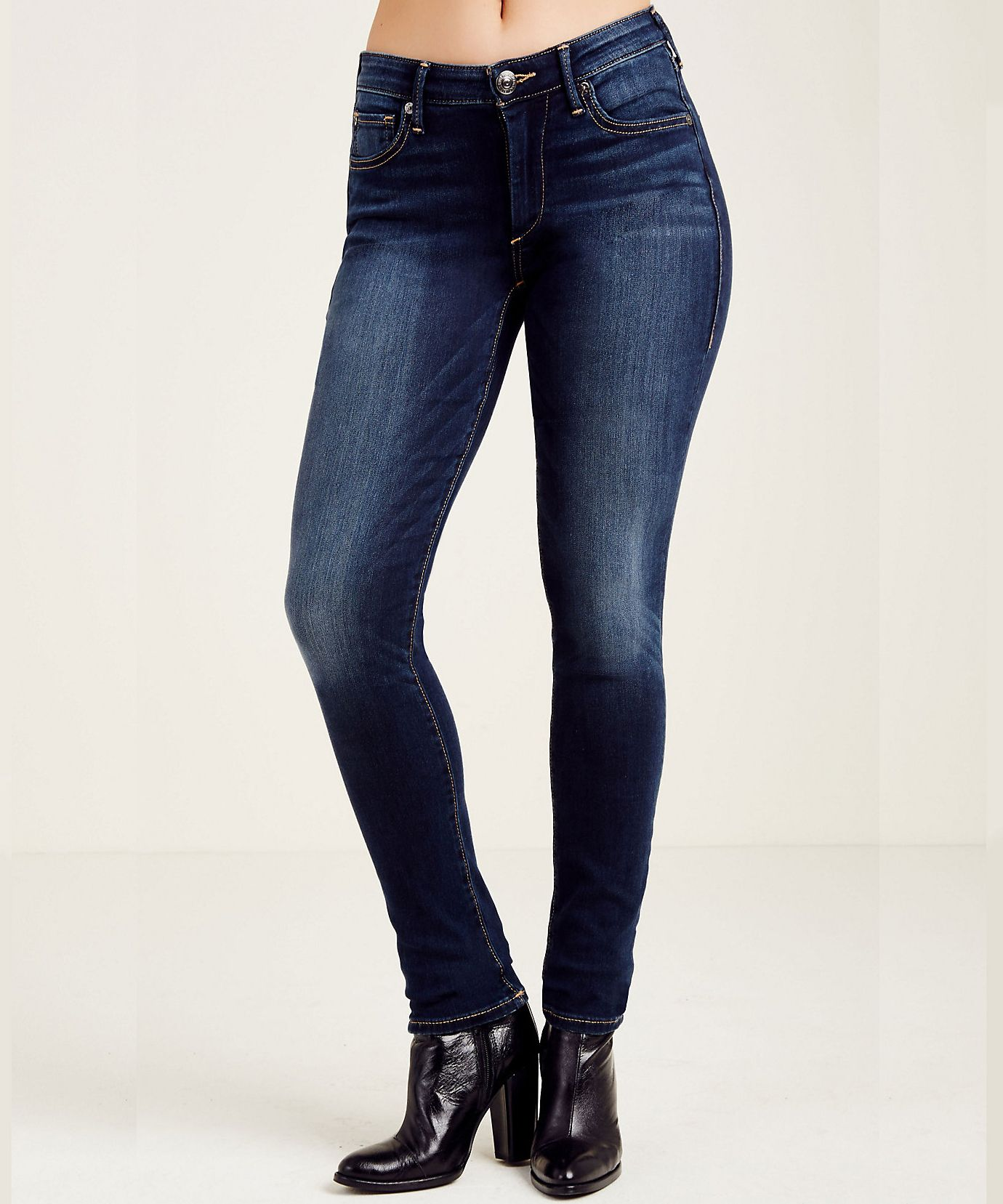 f690f8199e5f6 A Guide to the Best Jeans for Women with Wide Hips - True Religion from  InStyle.com
