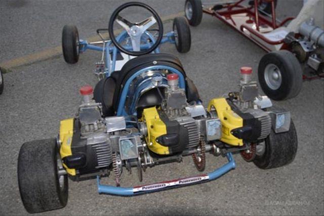vintage go karts   Vintage Kart Racers Stay Forever Young   Thought for Food