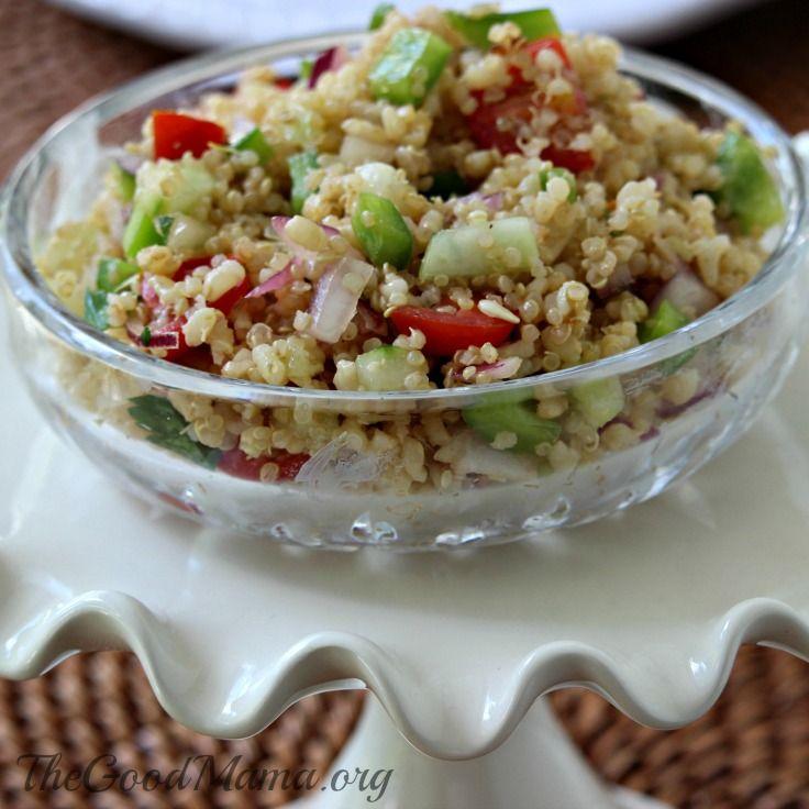 Simple Summer Quinoa Salad Recipe Quinoa salad recipes