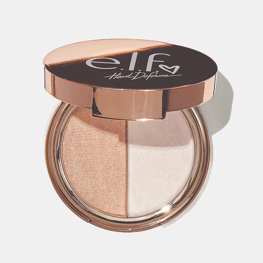 Heart Defensor Highlighter Palette Elf cosmetics