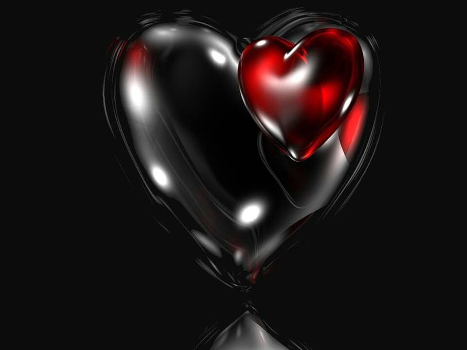 Red And Black Heart Broken Heart Wallpaper Heart Wallpaper Love Wallpaper Backgrounds