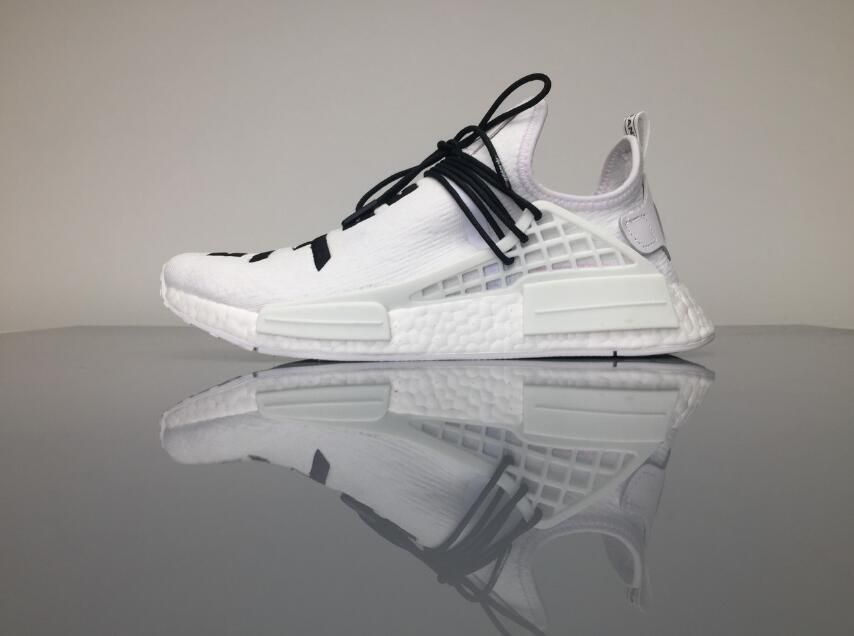 ddea56959 Adidas Originals NMD Human Race Pharrell Williams White Fear of God for  Sale 01