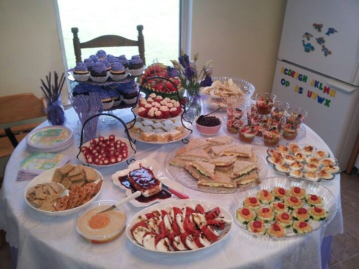 Finger Food Recipes For A Baby Shower