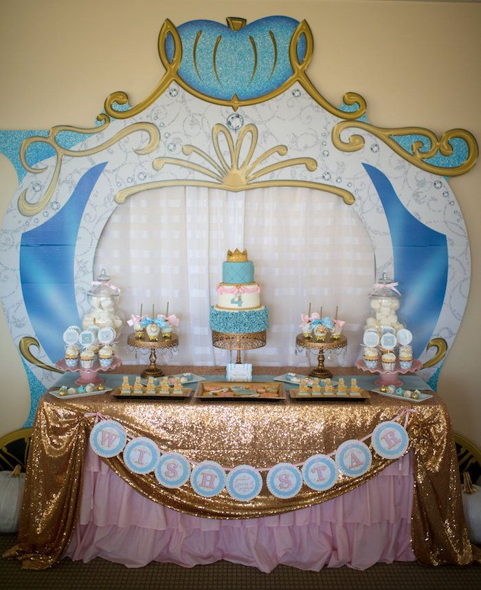 Princess Cinderella Themed Birthday Party Themed birthday parties