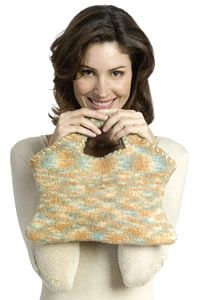 Free Knitting Pattern - Bags, Purses & Totes: Shaped Felted Purse