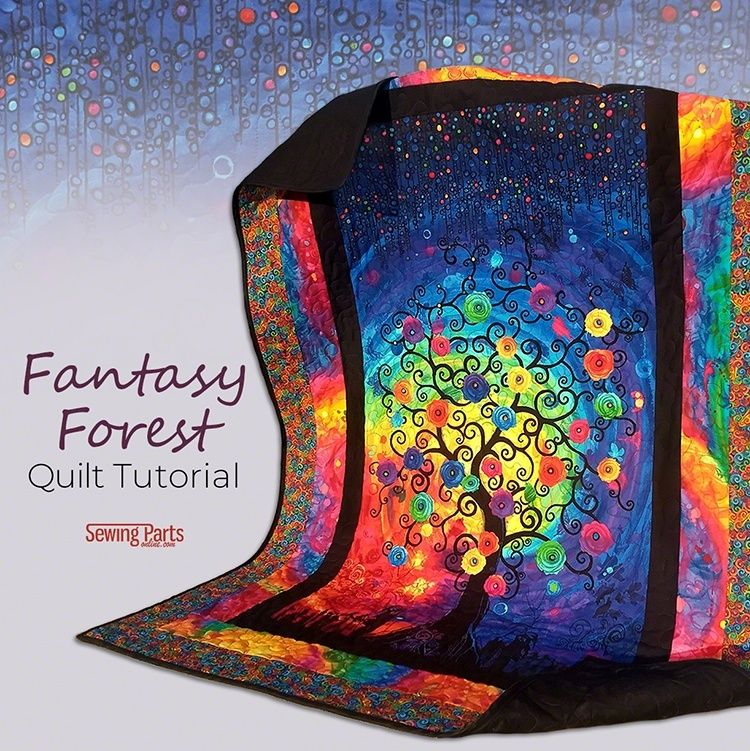 Fantasy Forest Quilt Tutorial Sewing Parts Online