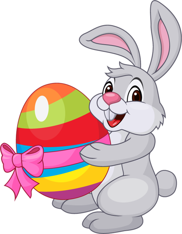 Easter Bunny Images, Clipart, Coloring Pages, Silhouette