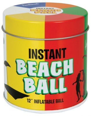 This inflatable beach ball by Outliving will turn any boring situation into a fun fest! Beach not included.