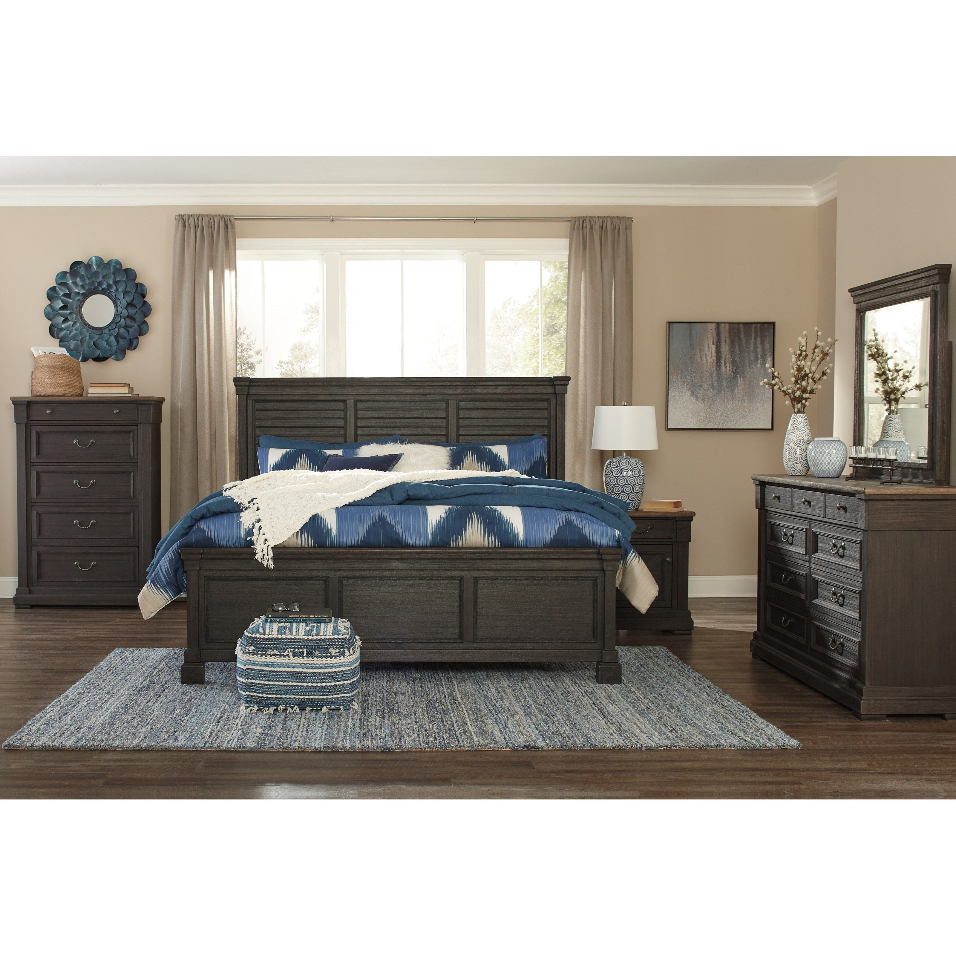 Tyler Creek California King Bedroom Group By Signature Design By