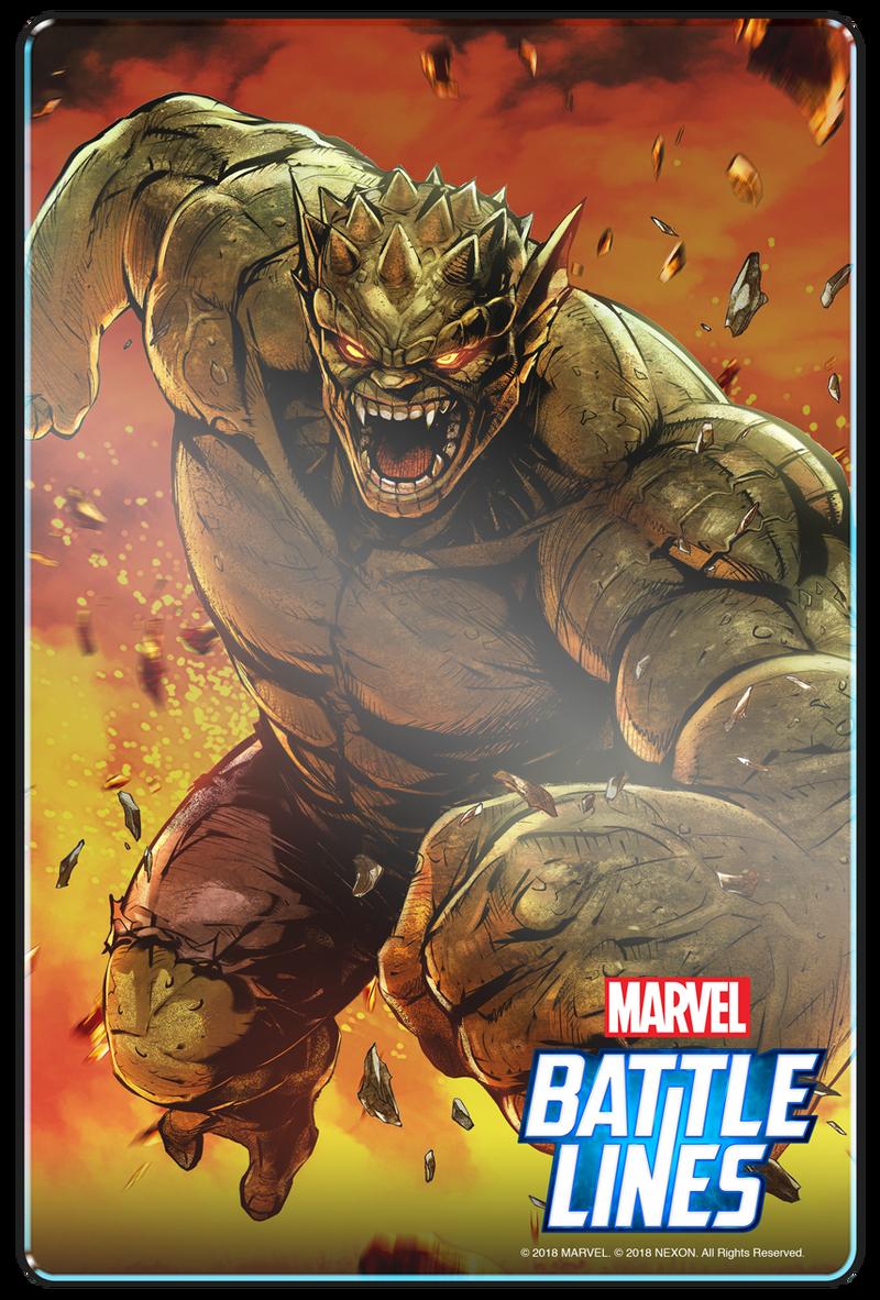 Prepare for Endgame in MARVEL Battle Lines Marvel