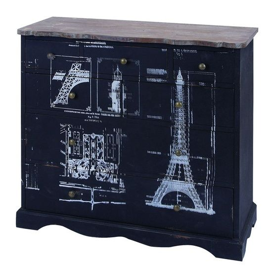Eiffel Tower Cabinet.