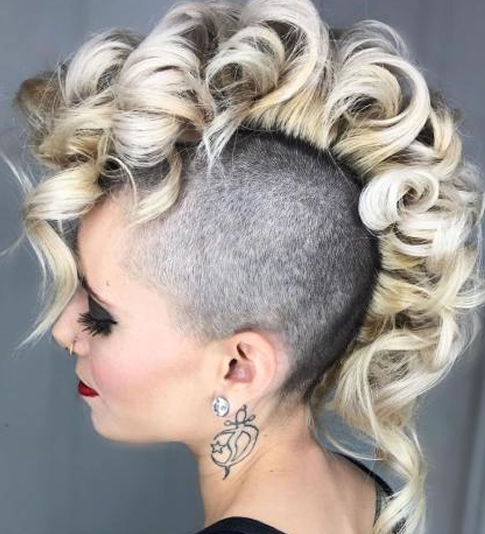 Undercut Frisuren Für Frauen 2018 2019 Frisuren Pinterest