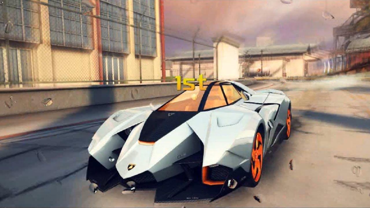 Asphalt 8 Airborne Lamborghini Egoista Track San Diego Harbour Test