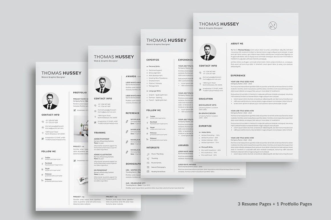 Resume/CV 5 Pages interestsskillsworkMain Resume