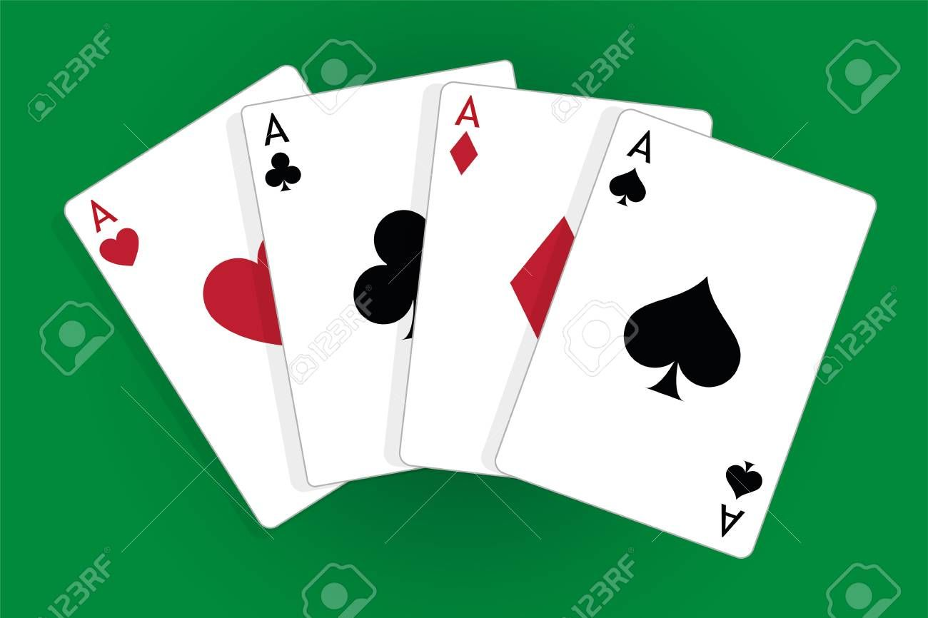Four aces casino poker cards ad casino aces