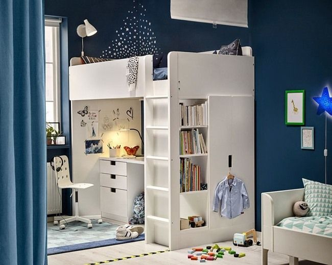 Dormitorios juveniles ikea habitaciones juveniles for Habitaciones juveniles nina