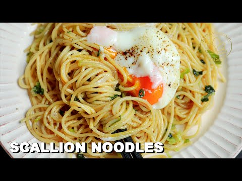 Easiest Scallion Noodles Huge Announcement Youtube In 2020 Recipes Asian Recipes Korean Dishes