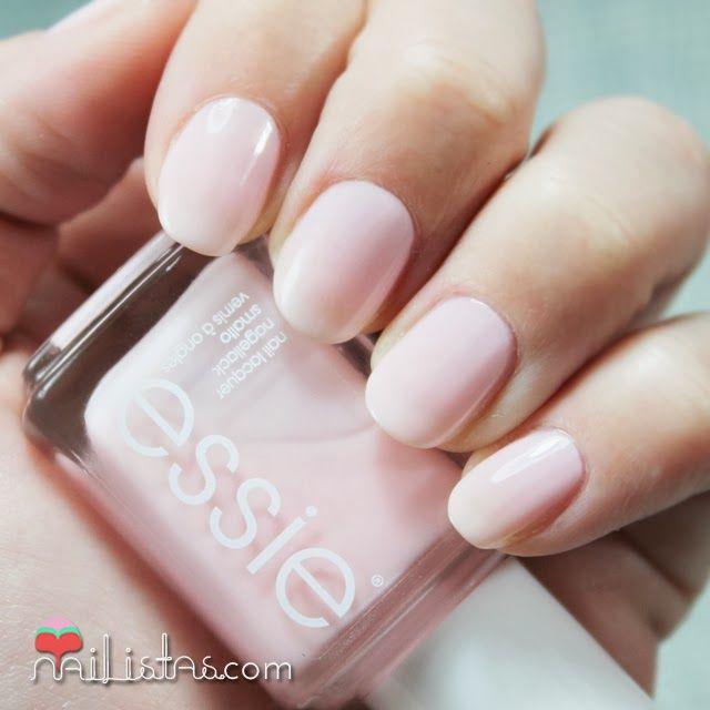 Manicura en rosa nude | Muchi, muchi de Essie | Nails | Pinterest ...