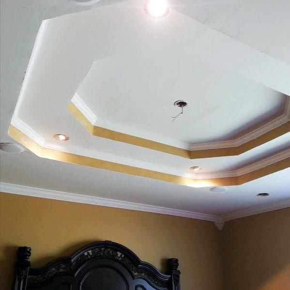 Top 50 Best Tray Ceiling Ideas - Overhead Interior Designs ...