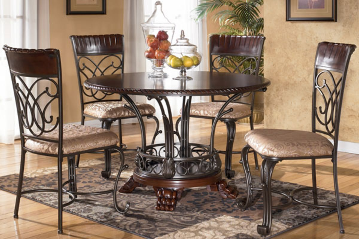 Metal Kitchen Table And Chairs Alyssa Dining Table 4 Chairs From Gardner White Furniture