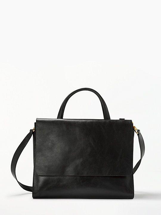 John Lewis Partners Wren Leather Work Bag Bags In