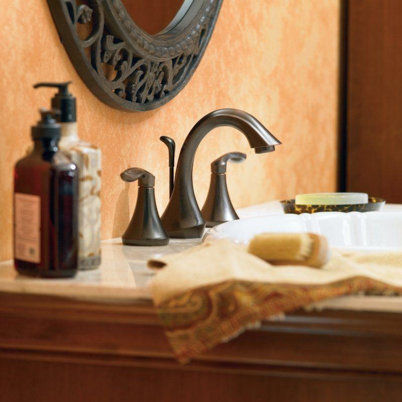 Moen T6420orb Widespread Bathroom Faucetbathroom Sink Faucetsvanity Ideasoil Rubbed Bronzemaster
