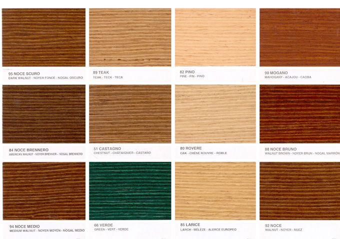 Cartella Colori Impregnanti Per Legno Bricoshop Il Portale Europeo Del Fai Da Te Colori Schemi Di Colori Legno