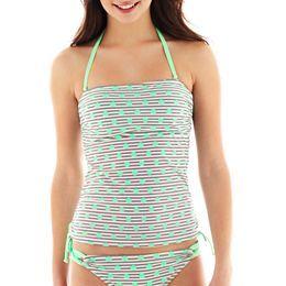 77cbf18d61e02 jcpenney.com | Arizona Bandeaukini Swim Top Yellow Purses, Swimsuit Cover  Ups, Cute