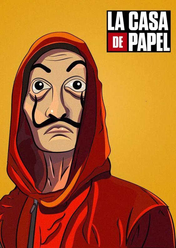 70 Best La Casa De Papel Wallpapers Hd Money Heist Drawing Wallpaper Movie Poster Art Wallpaper