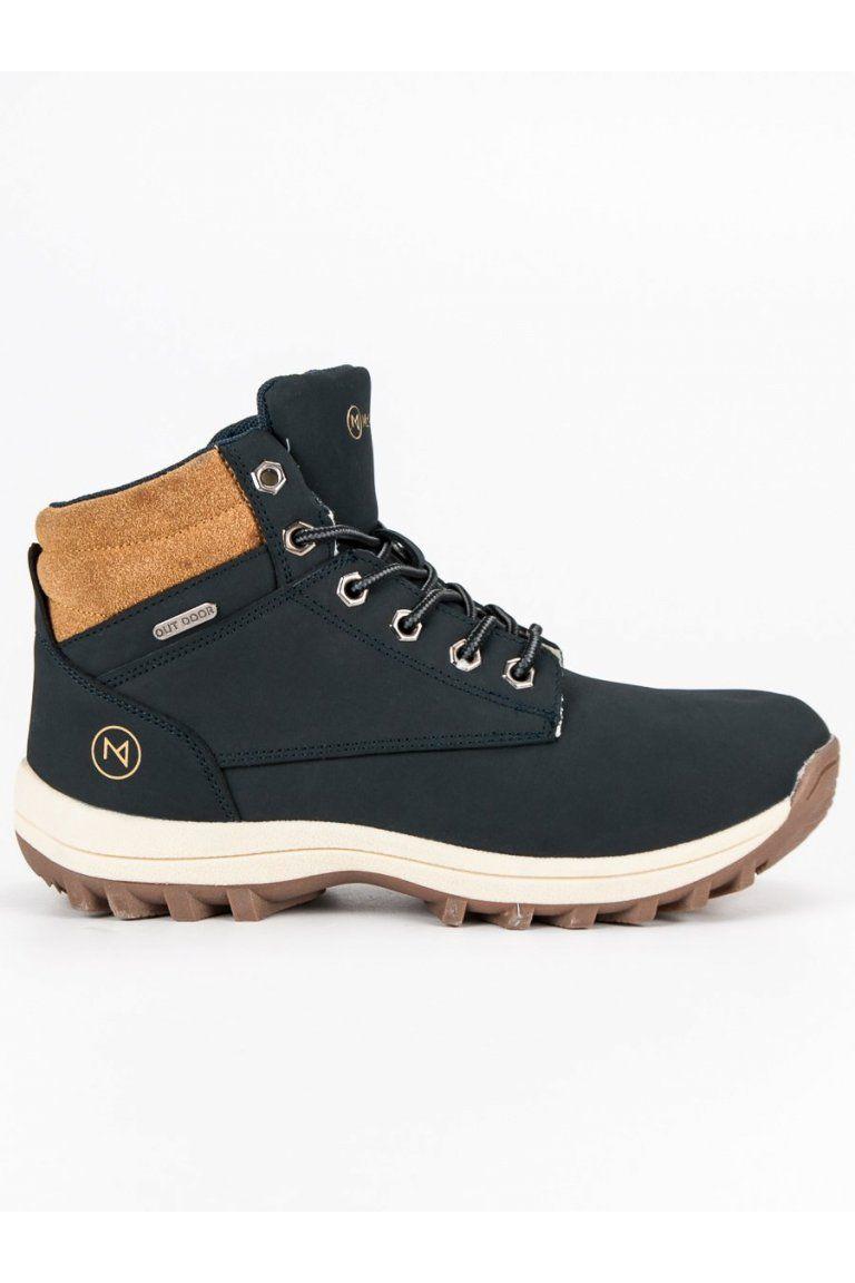 0936495a91 Pánske modré topánky na zimu McKeylor v roku 2019