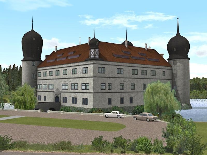 Wasserschloss in drei Varianten. Ab #EEP8 http://bit.ly/Wasserschloss-in-drei-Varianten