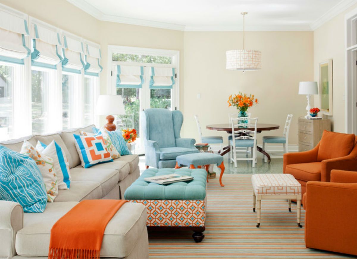 Painted Living Room Furniture. Beautiful Coastal Color Living Room Painted  Furniture T