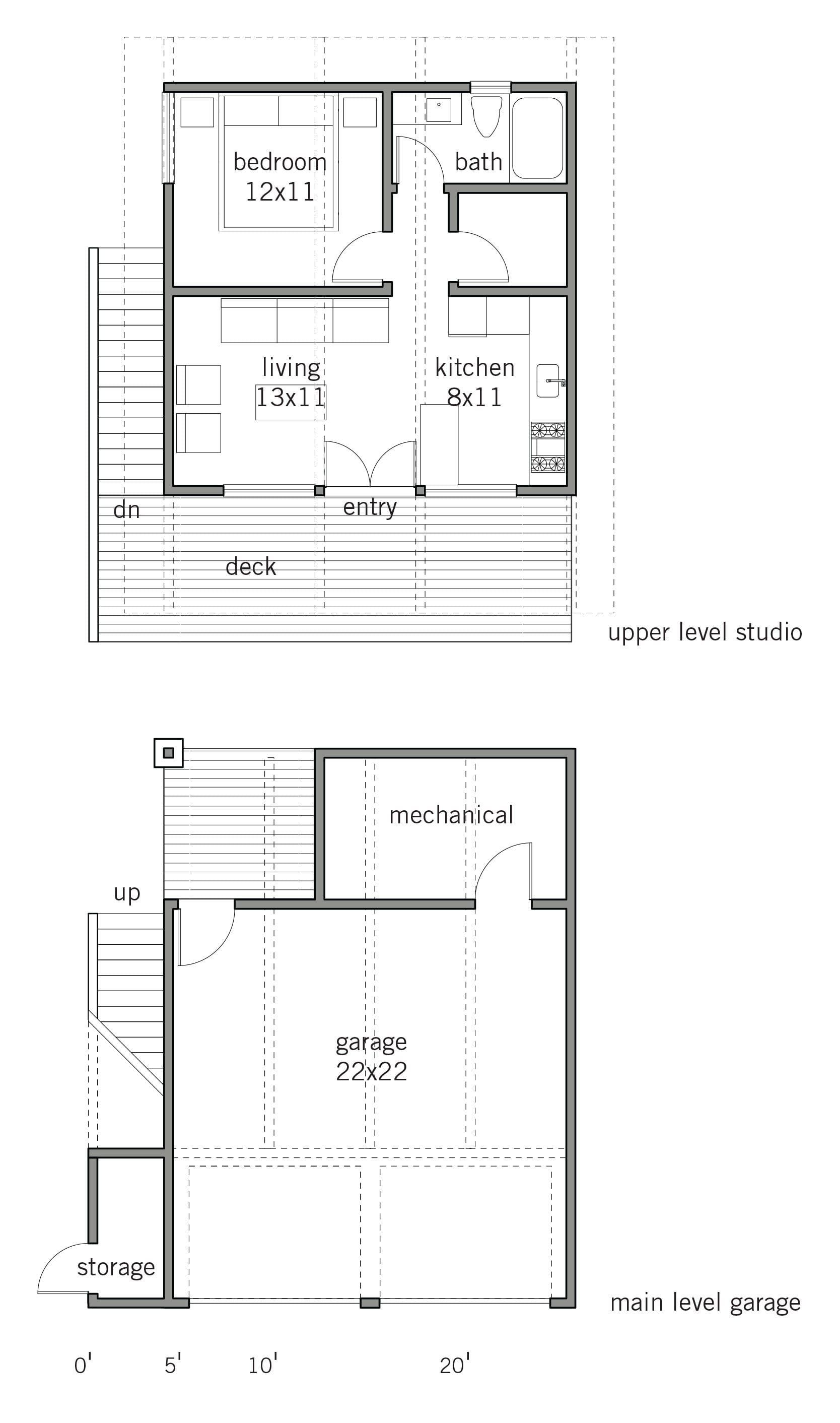 Pin On Garage Apartment Plans