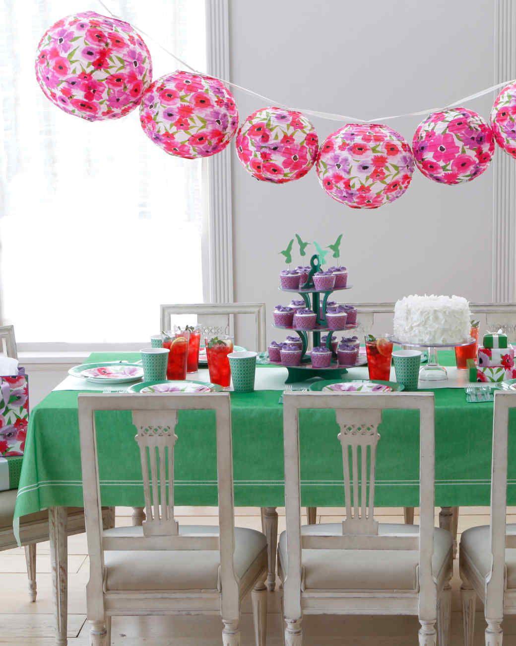 Mother 39 s day party martha stewart living make her day - Martha stewart decoracion ...