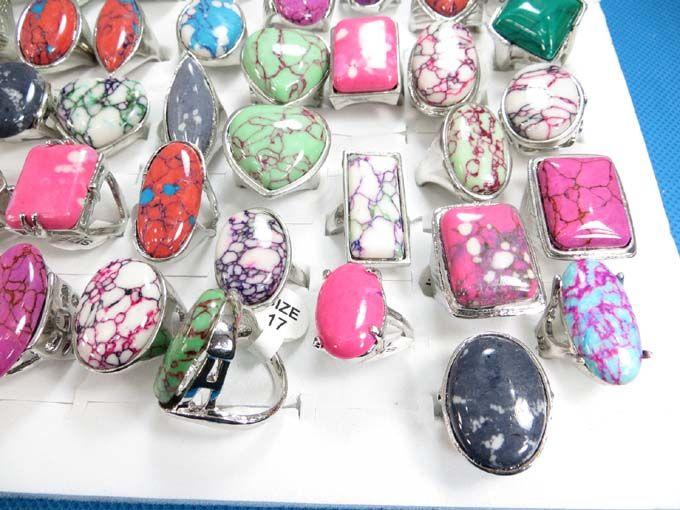 mixed colors gemstone rings size randomly pick between $1.25 - http://www.wholesalesarong.com/blog/mixed-colors-gemstone-rings-size-randomly-pick-between-1-25/