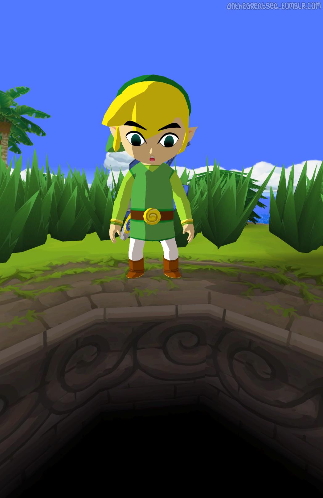 that hi-res wind waker texture mod thing | Zelda | Wind waker