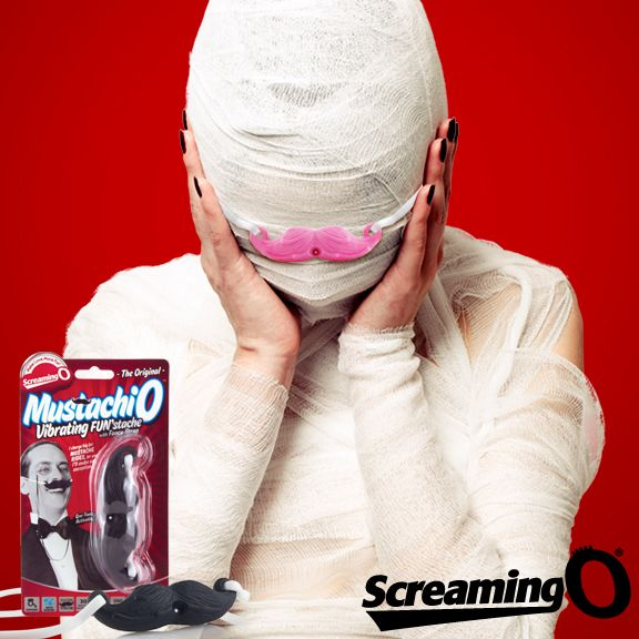 Accessorize your Halloween Costume with the MustachiO! Mummy Stache ツ #mustachio #mustache #moustache #stache #mummystache #movember #halloween #halloweencostume #mummy #boo #spooky #scary #trickortreat