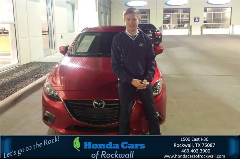 Happy Anniversary to Joshua on your #Mazda #Mazda3 from Joshua Canavier at Honda Cars of Rockwall!  https://deliverymaxx.com/DealerReviews.aspx?DealerCode=VSDF  #Anniversary #HondaCarsofRockwall