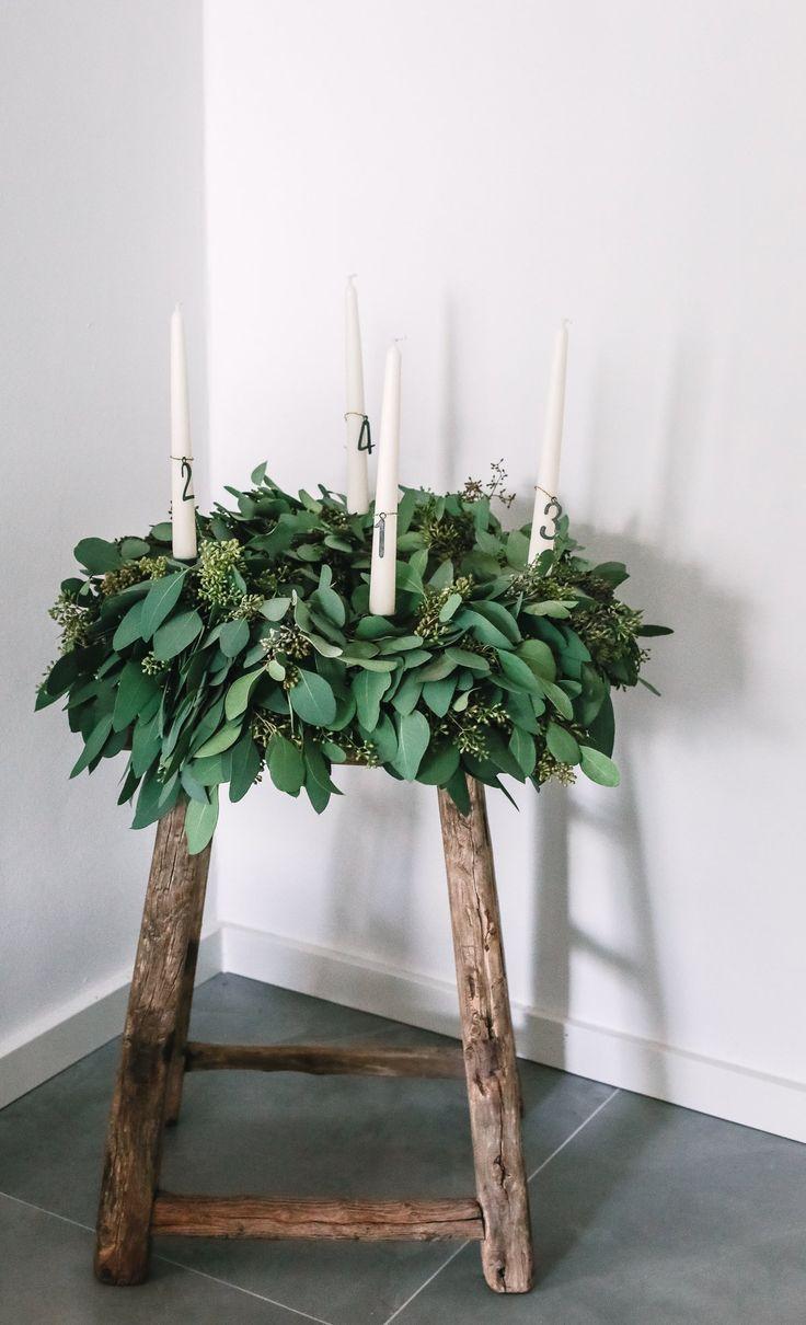 Photo of Adventskranz binden aus Eukalyptus – so geht´s