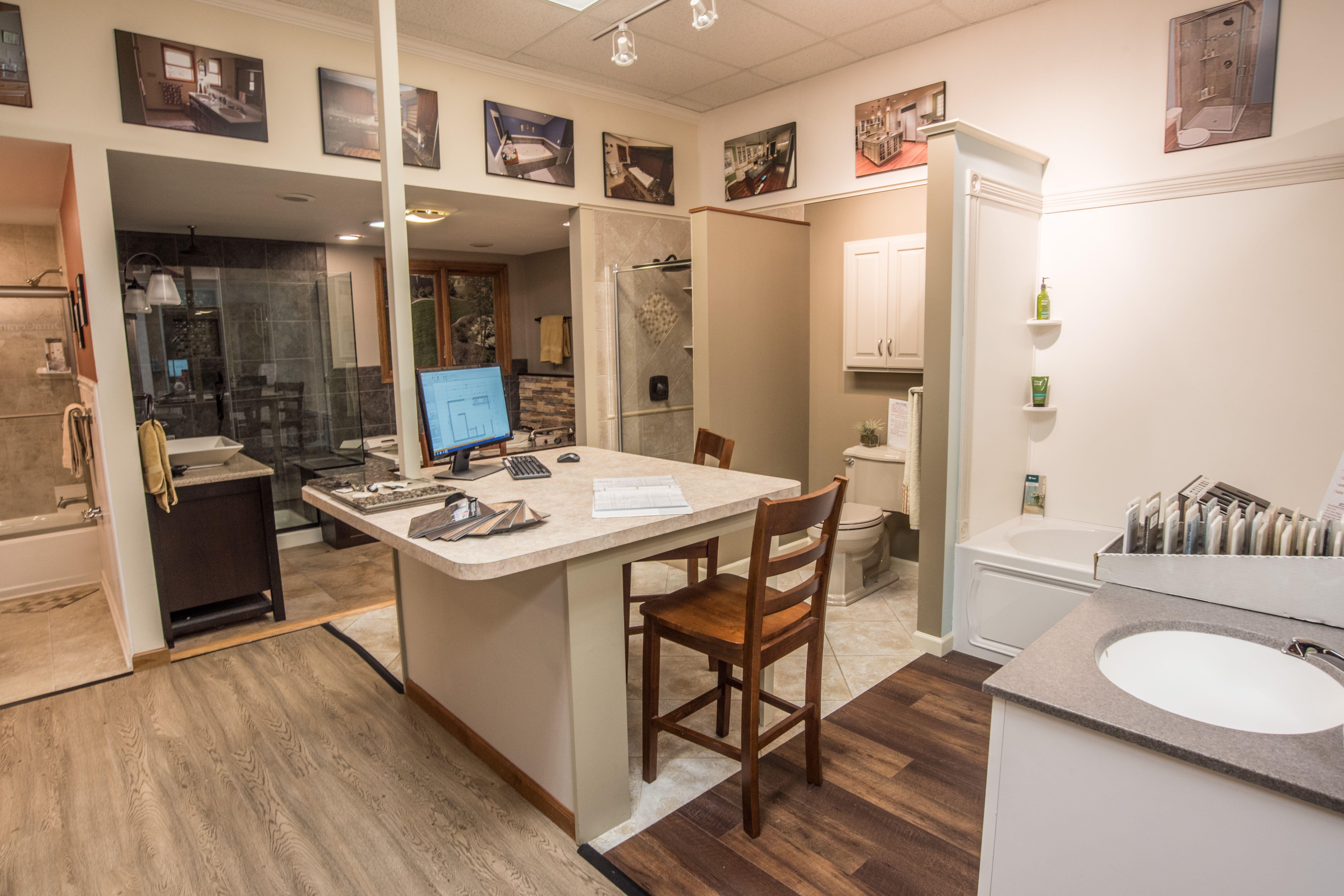 kaz companies buffalo ny design center showroom counters