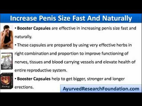 This video describes about effective way to increase penis size ...