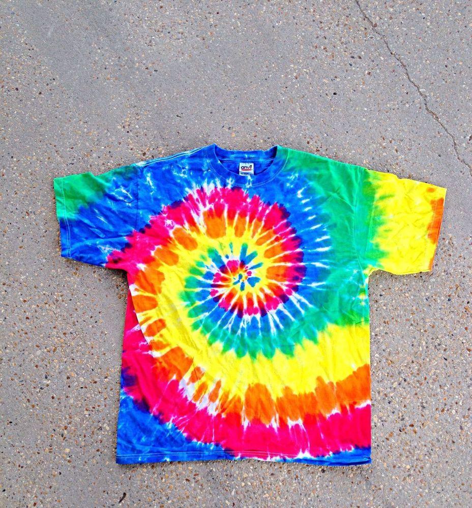 Tie Dye T Shirt, Adult S-2X get it on ebay at Giddyup1414