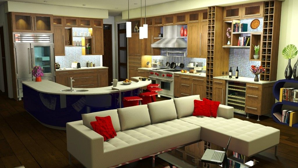 Sweet home 3d kitchen design 3d kitchen design Home 3d model