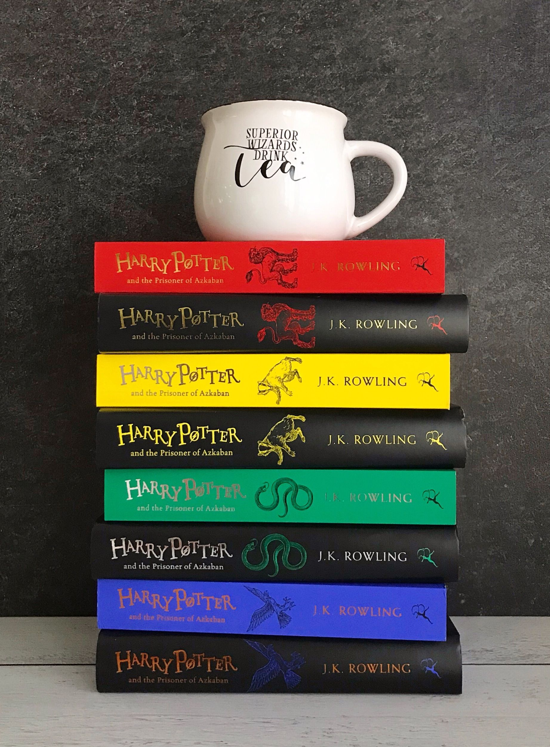 Harry Potter Edition 20 Ans : harry, potter, edition, Bloomsbury, Anniversary, Harry, Potter, Editions, Bluestocking, Bookshelf, Rowling,, Potter,, Livre