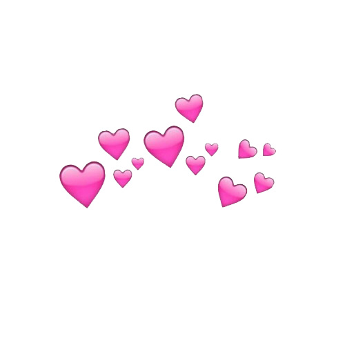 Love Pink Tumblr Wallpapers Overlays Transparent Emoji Backgrounds Sticker Art